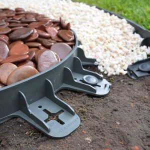 60mm – Flexible Lawn and Garden Edging inc Ground Spikes