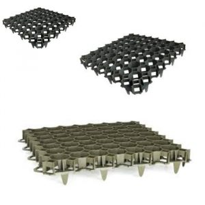 Gravel Reinforcement & Retention Grid – Green