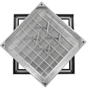 TSL-Pro 600 x 450 x 41mm Aluminium Recessed Cover