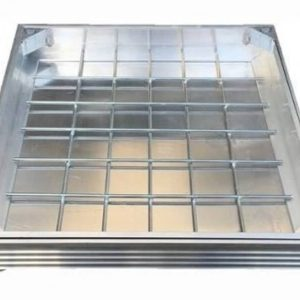 DS 300 x 300 x 48mm Aluminium Recessed Cover