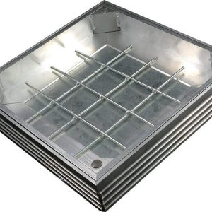 TSL-Pro 1000 x 1000 x 61mm Aluminium Recessed Cover