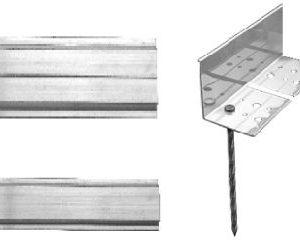 Aluminium Edge – Flexible 64mm High